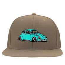 Load image into Gallery viewer, Bug Embroidered  Flexfit Cap, - Aircooled VW - Vintage Vdub