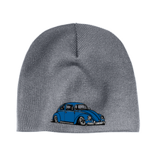 Load image into Gallery viewer, Blue Bug Beanie, - Aircooled VW - Vintage Vdub