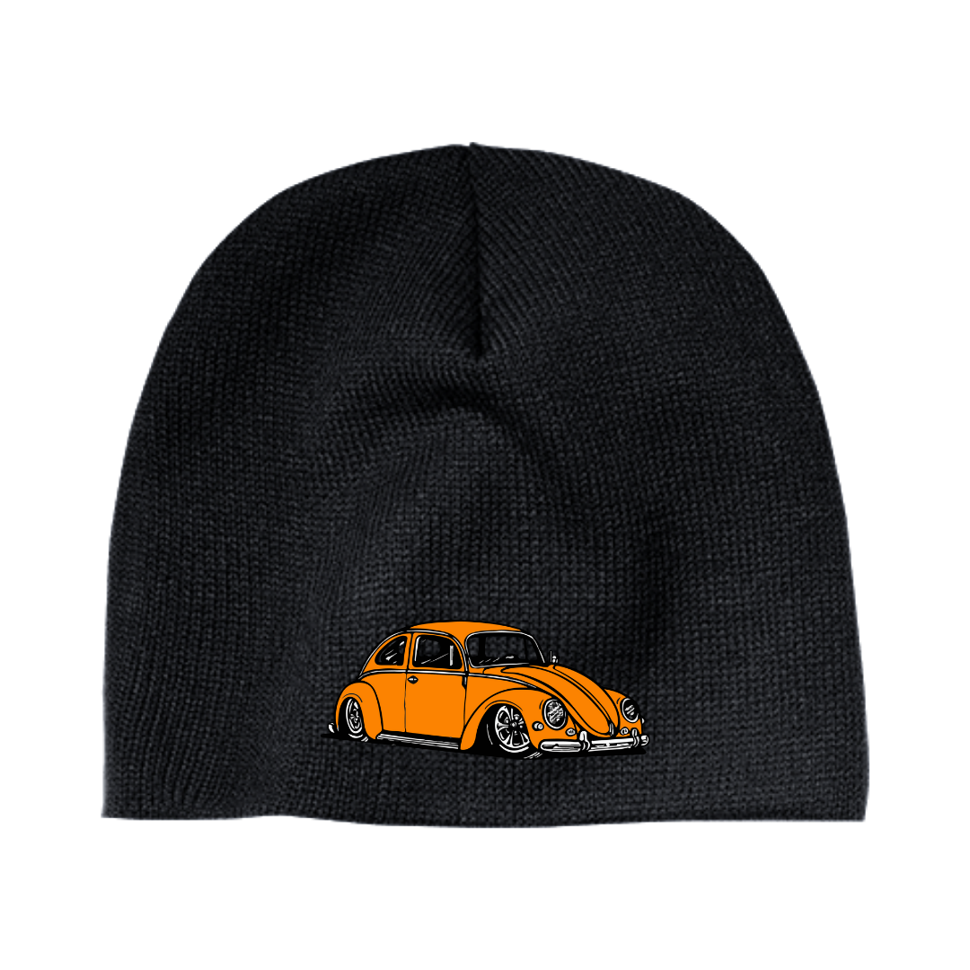 Orange Bug Beanie - Vintage Vdub