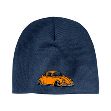 Load image into Gallery viewer, Orange Bug Beanie - Vintage Vdub