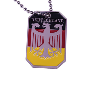 German Eagle Necklace - Stainless Steel, - Aircooled VW - Vintage Vdub