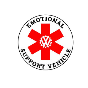 Emotional Support Vehicle, - Aircooled VW - Vintage Vdub