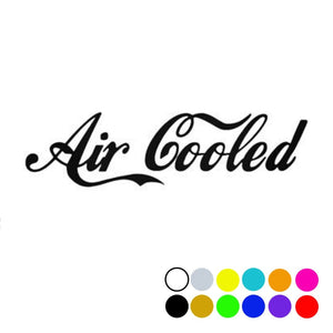 Classic Air Cooled Decal, - Aircooled VW - Vintage Vdub