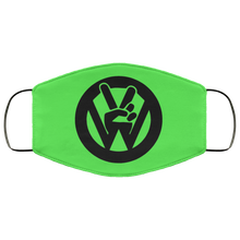 Load image into Gallery viewer, Face Mask Peace Sign (Multiple colors), - Aircooled VW - Vintage Vdub