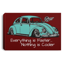 Load image into Gallery viewer, Vintage Bug Framed Canvas 3 Sizes, - Aircooled VW - Vintage Vdub