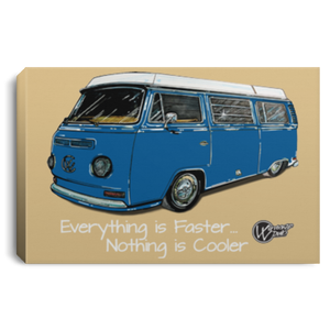 WestyRide Framed Canvas 3 Sizes, - Aircooled VW - Vintage Vdub