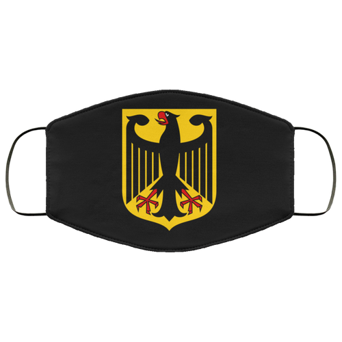 Face Mask German Eagle (Multiple Colors), - Aircooled VW - Vintage Vdub