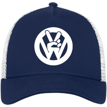 Load image into Gallery viewer, Peace Sign New Era® Trucker - Vintage Vdub