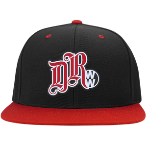 DRWW Embroidered Snapback (Red), - Aircooled VW - Vintage Vdub