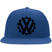 Load image into Gallery viewer, COG Embroidered Flexfit Cap, - Aircooled VW - Vintage Vdub