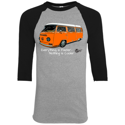 Camper Bus ~ 3/4 Orange