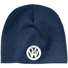Load image into Gallery viewer, Peace Sign Beanie, - Aircooled VW - Vintage Vdub