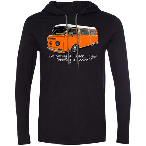 Camper Bus ~ Lightweight Hoodie (Orange)