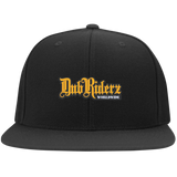 DubRiderz Embroidered Flexfit ( Gold)