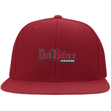 Load image into Gallery viewer, DubRiderz Embroidered Snapback (Red), - Aircooled VW - Vintage Vdub