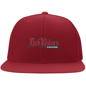 DubRiderz Embroidered Snapback (Red), - Aircooled VW - Vintage Vdub