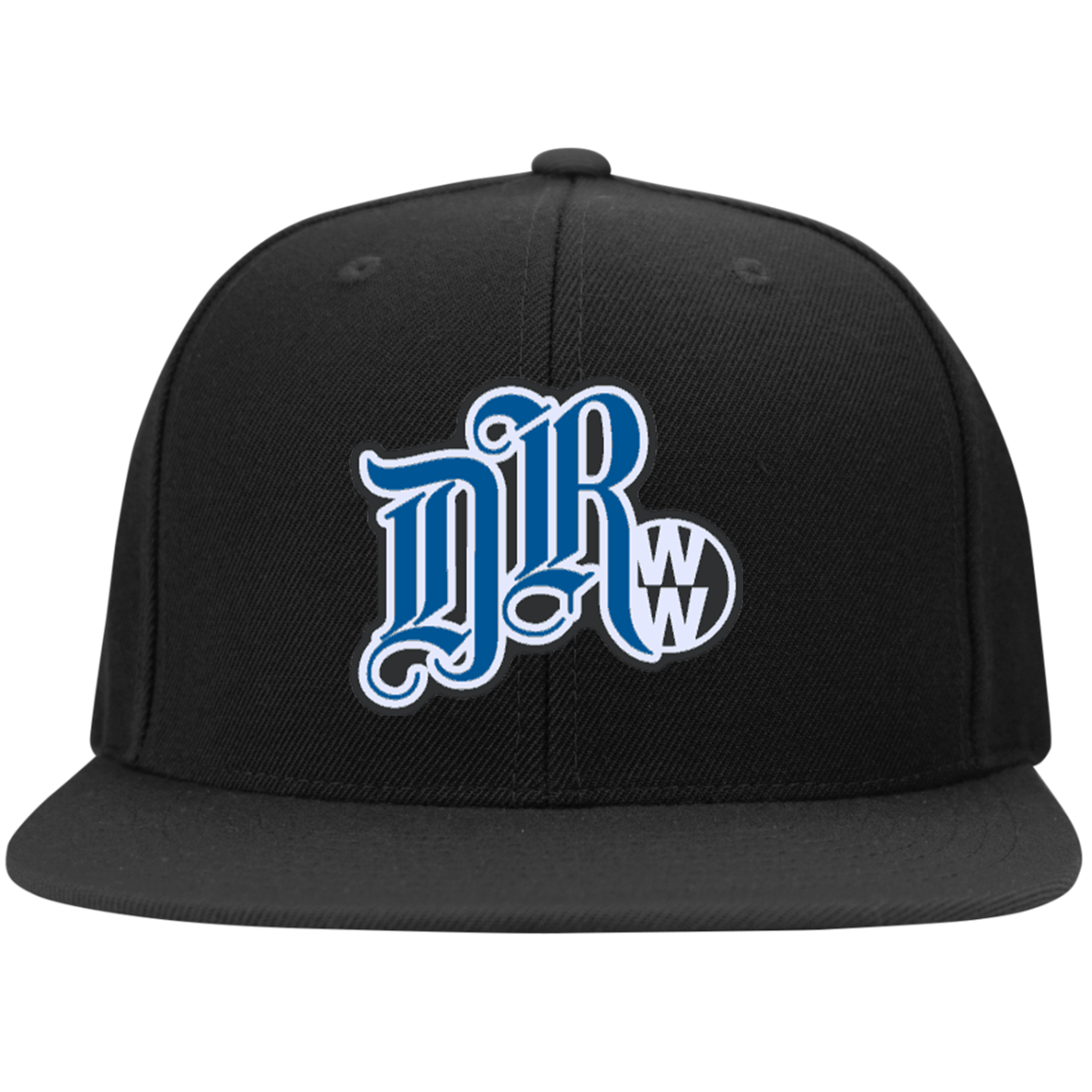 DRWW Embroidered Snapback (Blk/Blue), - Aircooled VW - Vintage Vdub