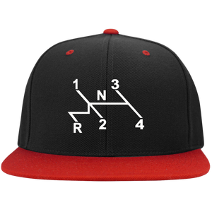 Shift Pattern Embroidered Snap Back, - Aircooled VW - Vintage Vdub