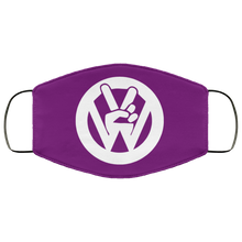 Load image into Gallery viewer, FMA Face Mask Peace Sign (Multiple colors) - Vintage Vdub