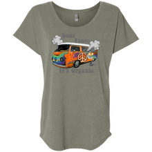 Load image into Gallery viewer, Hippie Bus Next Level Triblend, - Aircooled VW - Vintage Vdub