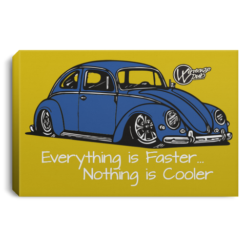 Vintage Bug Framed Canvas 3 Sizes