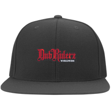 Load image into Gallery viewer, DubRiderz Embroidered Snapback (Red) - Vintage Vdub