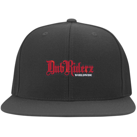 DubRiderz Embroidered Snapback (Red), - Aircooled - Vintage Vdub - Vw