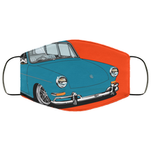 Load image into Gallery viewer, Face Mask Blue SB (Multiple colors), - Aircooled VW - Vintage Vdub