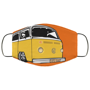FMA Face Mask Yellow Bay (Multiple colors) - Vintage Vdub