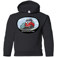 Load image into Gallery viewer, My Best Friend Is A Bulli Youth Pullover Hoodie, - Aircooled VW - Vintage Vdub