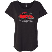 Load image into Gallery viewer, Buggie Red  Next Level  Triblend - Vintage Vdub