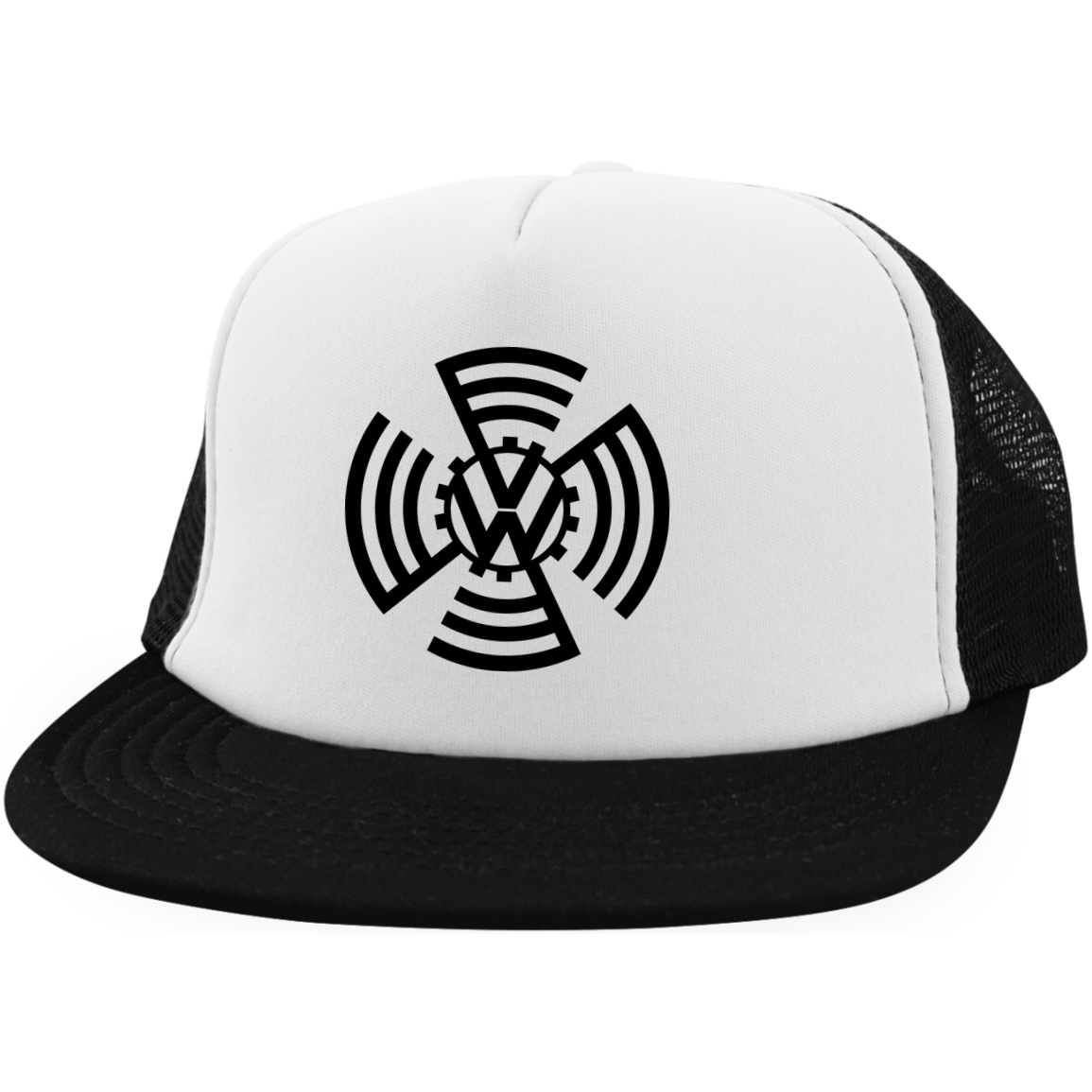 KDF Embroidered Mesh Trucker, - Aircooled VW - Vintage Vdub
