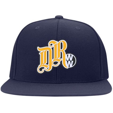 DRWW Embroidered Snapback (Navy/Gold), - Aircooled - Vintage Vdub - Vw