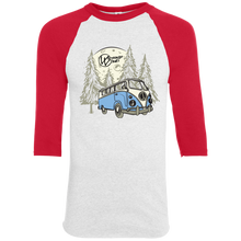Load image into Gallery viewer, Moonlight Drive Baseball Tee, - Aircooled VW - Vintage Vdub