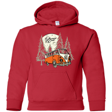 Load image into Gallery viewer, Moonlight Drive V.2 Youth Pullover Hoodie, - Aircooled VW - Vintage Vdub