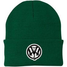 Load image into Gallery viewer, Kool Kat Embroidered Beanie, - Aircooled VW - Vintage Vdub
