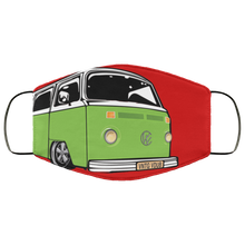 Load image into Gallery viewer, Face Mask Green Bay (Multiple colors), - Aircooled VW - Vintage Vdub
