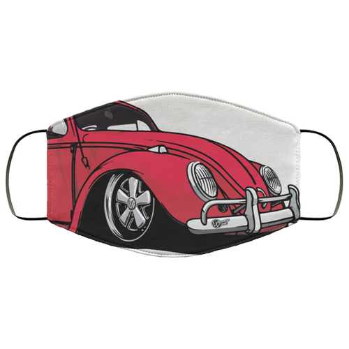 FMA Face Mask Red Bug (Multiple Colors)
