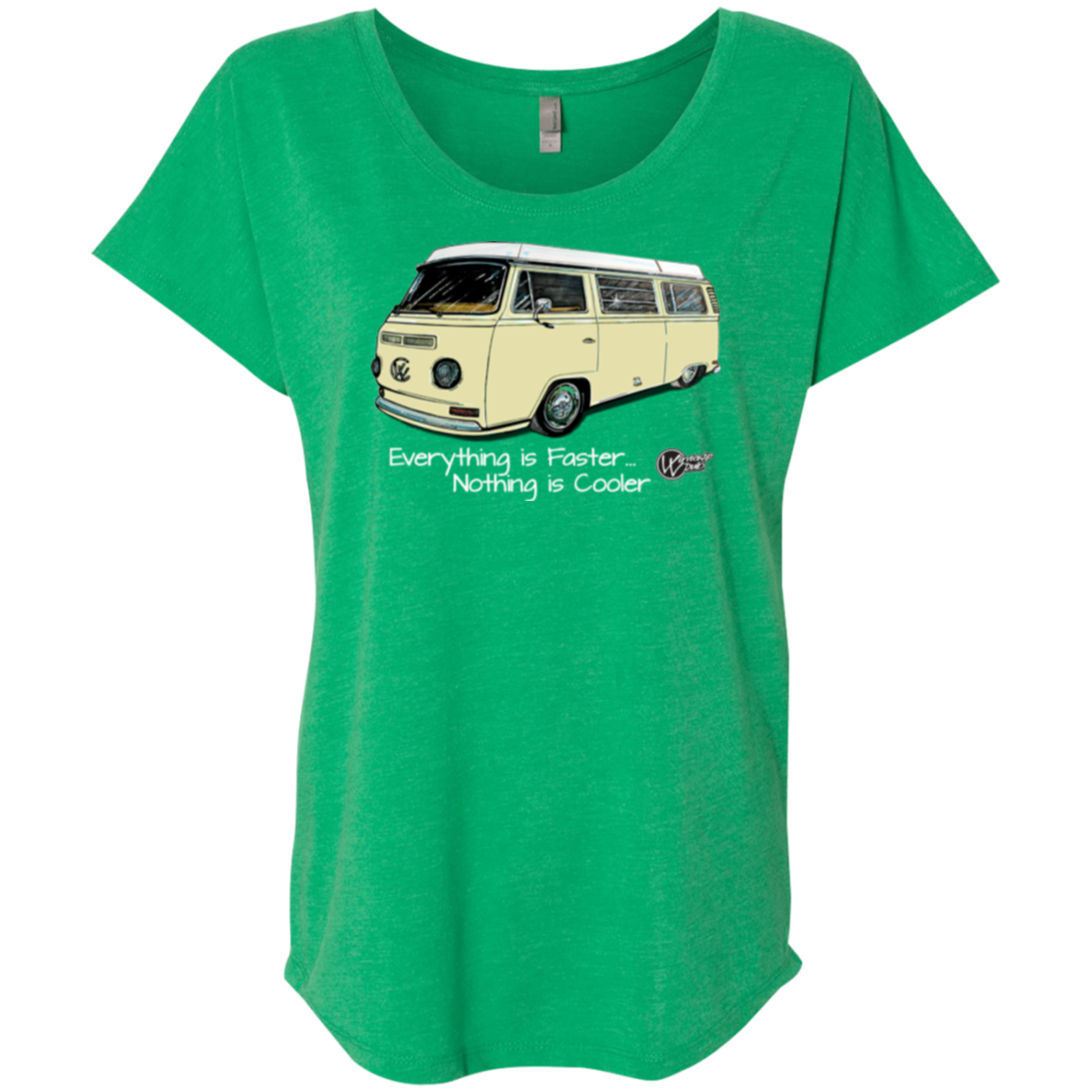 Westy Ride  Next Level  Triblend, - Aircooled VW - Vintage Vdub