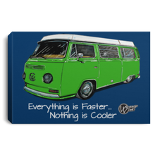 Load image into Gallery viewer, WestyRide Framed Canvas 3 Sizes, - Aircooled VW - Vintage Vdub