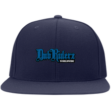 Load image into Gallery viewer, DubRiderz Embroidered Snapback (Blue), - Aircooled VW - Vintage Vdub