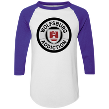 Load image into Gallery viewer, Wolfsburg Addiction Baseball Tee, - Aircooled VW - Vintage Vdub