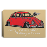 Vintage Bug Framed Canvas