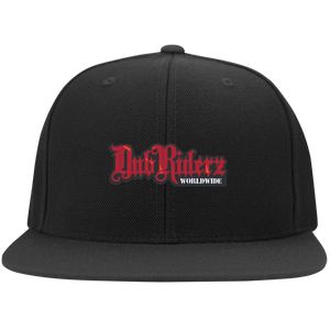 DubRiderz Embroidered Snapback (Red) - Vintage Vdub