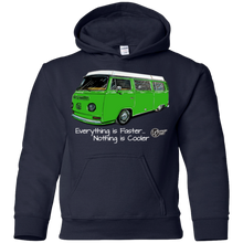 Load image into Gallery viewer, Nothing Is Cooler Youth Pullover Hoodie, - Aircooled VW - Vintage Vdub