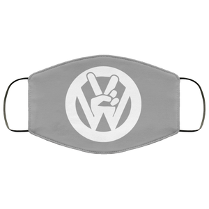 Face Mask Peace Sign (Multiple colors), - Aircooled VW - Vintage Vdub