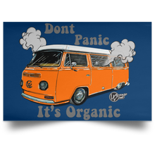 Load image into Gallery viewer, Don't Panic Satin Landscape Poster, - Aircooled VW - Vintage Vdub