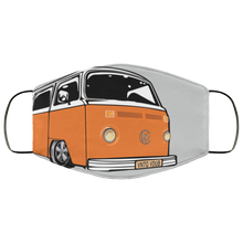 Load image into Gallery viewer, Face Mask Orange Bay (Multiple colors), - Aircooled VW - Vintage Vdub