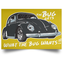 Load image into Gallery viewer, The Bug Poster, - Aircooled VW - Vintage Vdub