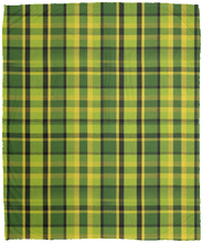 Load image into Gallery viewer, Westy Plaid Fleece Blanket - 50x60, - Aircooled VW - Vintage Vdub
